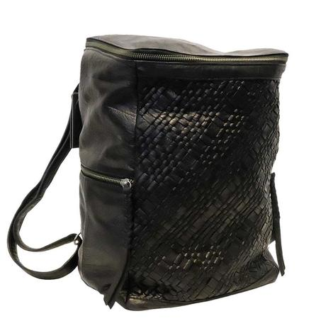 Day and Mood Black Panna Backpack