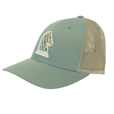Classice Equine Aqua Baseball Hat
