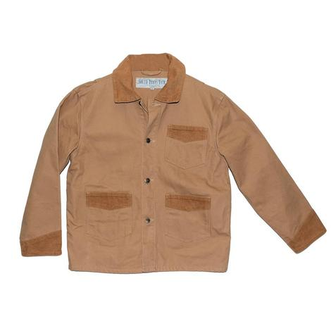 STT Tan Custom Men's Brush Jacket