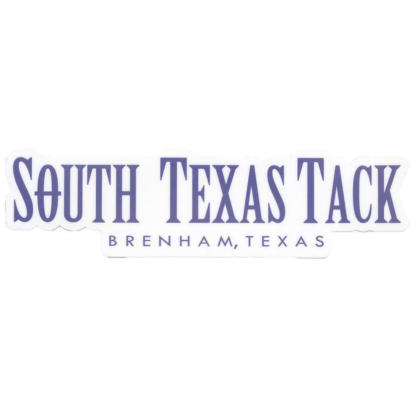 South Texas Tack Brenham Texas Sticker
