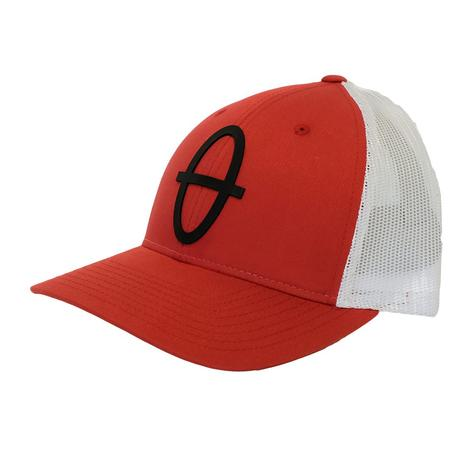 STT Red and White Meshback Cap