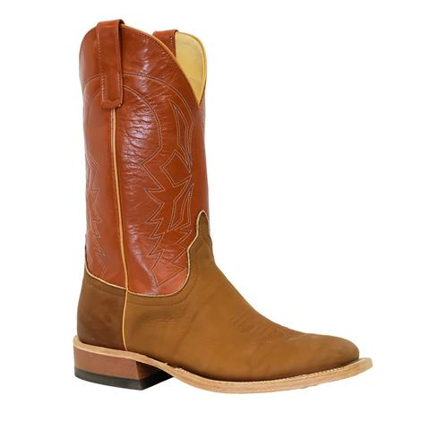 Anderson Bean Brown Big League Orange Pekoe Kidskin Men's Boots