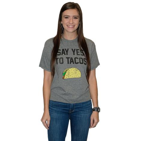 Say Yes To Tacos Women's Tee