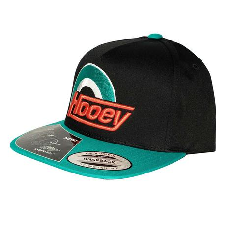 Hooey Black Teal Suds Cap