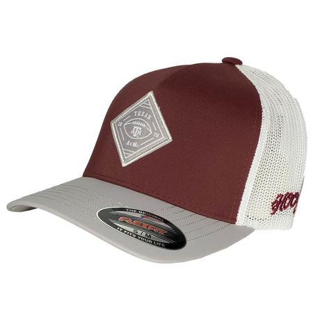 Hooey Texas A&M Diamond Patch Cap