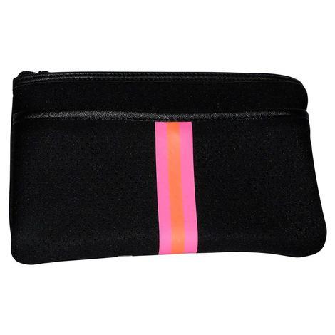 Haute Shore Dylan Belt Bag Fit Black Neon Pink Orange