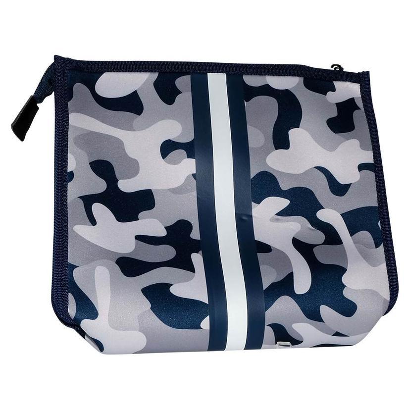 Haute Shore Mark Cross Body Navy Camo Bag
