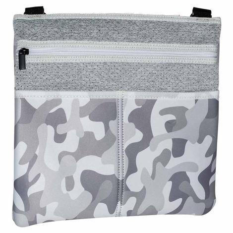 Haute Shore Peyton Cross Body Cool White Camo Bag