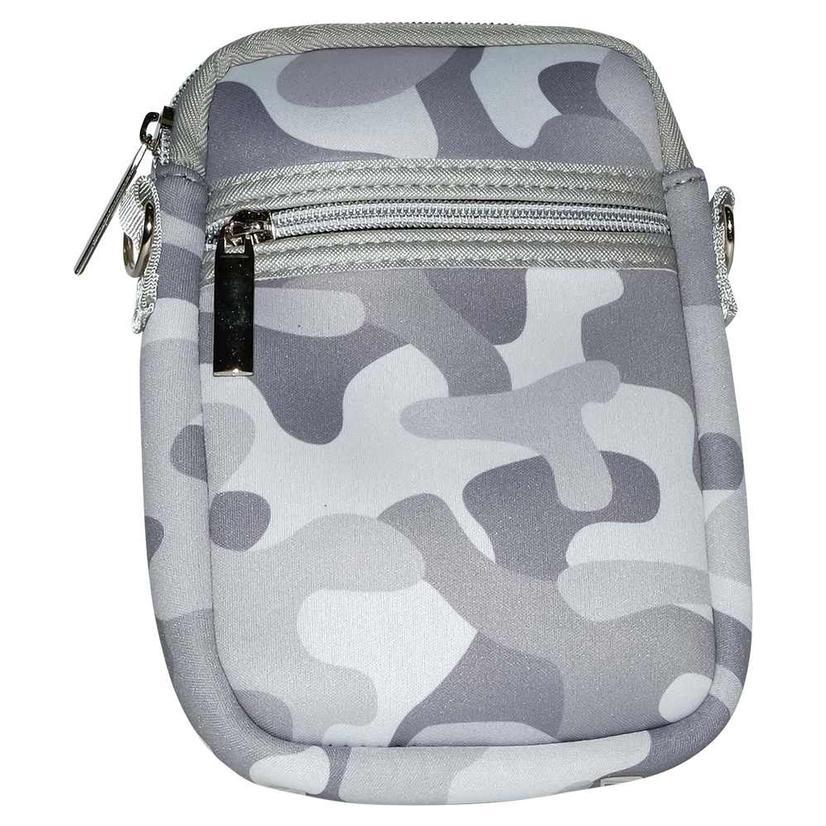 Haute Shore Casey Cell Phone Bag White Camo