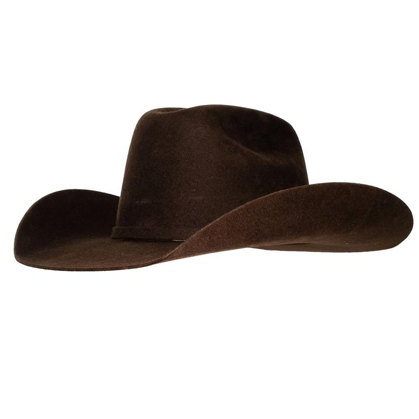 Ariat Kid's Wool Chocolate Felt Hat