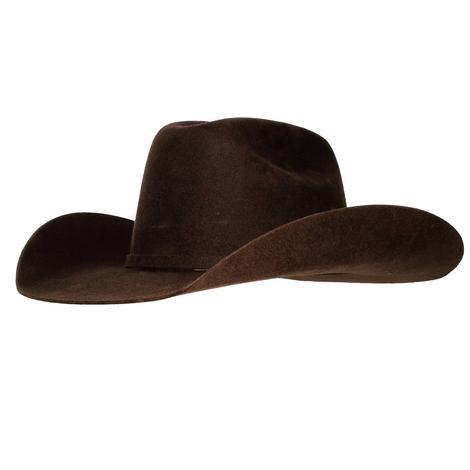 Ariat Kid's Wool Chocolate Felt Hat