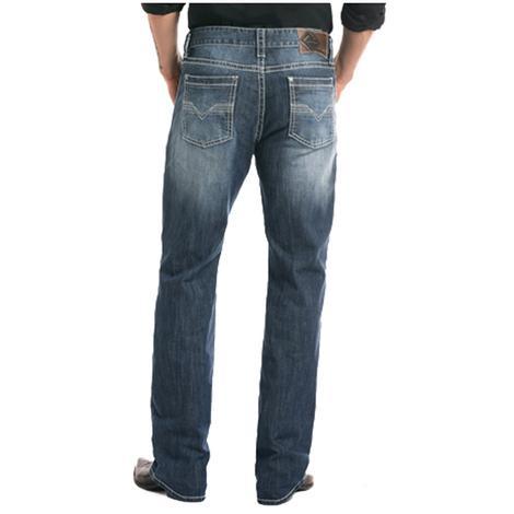Rock & Roll Cowboy Reflex Double Barrel Straight Leg Jeans