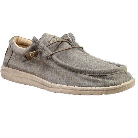 Hey Dude Wally Stretch Steppa Men's Shoes