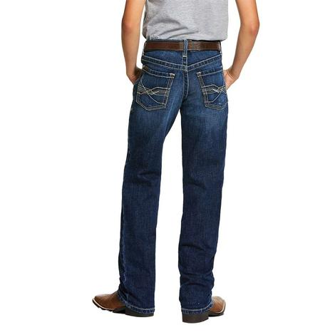 Ariat B5 Wiley Slim Straight Leg Boy's Jeans