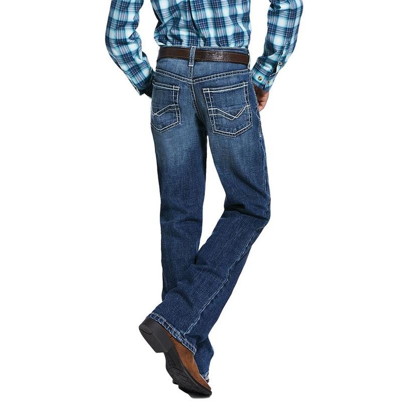 Ariat B4 Relaxed Bootcut Boy's Jeans