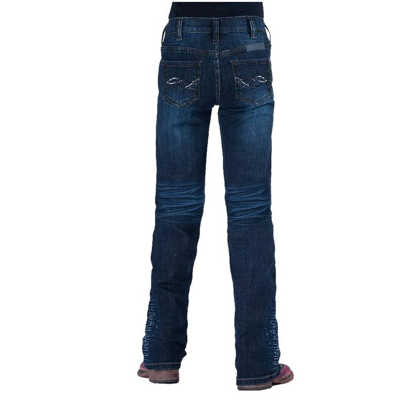 Cowgirl Tuff Shimmer Blue Girl's Jeans