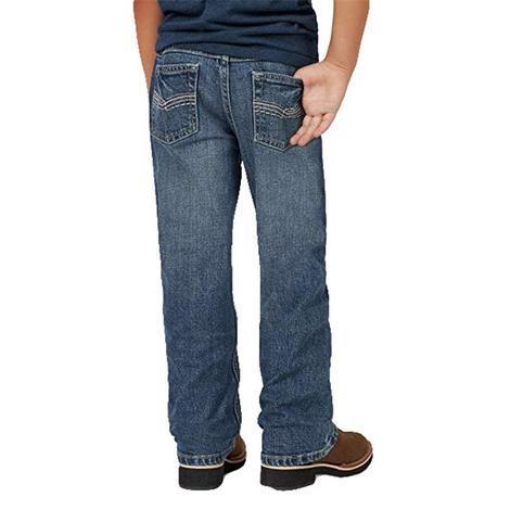 Wrangler No. 42 Vintage Bootcut Roxton Wash Boy's Jeans - Size 4-7