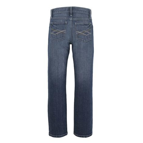 Wrangler 20X No. 44 Slim Straight Lipan Wash Boy's Jeans - Size 4-7
