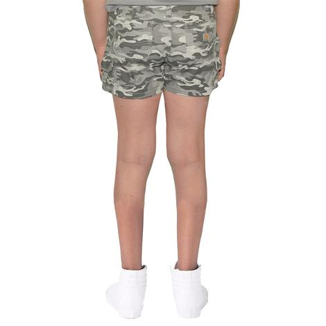 Carhartt Grey Camo Kid's Shorts