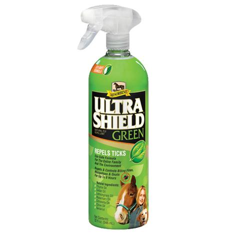 Absorbine Ultrashield Green Eco Safe Fly Spray 32oz