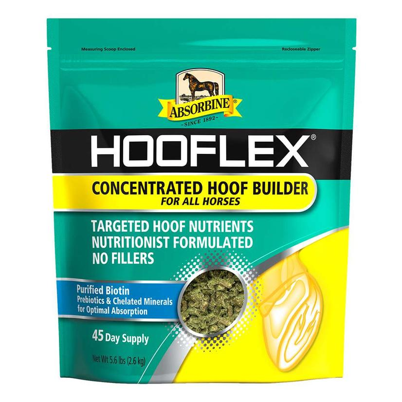 Absorbine Hooflex Concentrated Builder Pelleted Supplement 45- Day