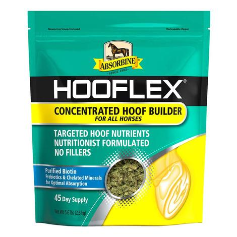 Absorbine Hooflex Concentrated Builder Pelleted Supplement 45-day