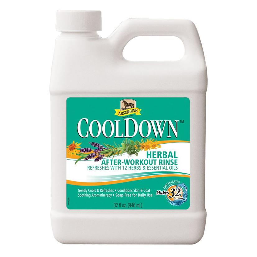 Absorbine Cooldown After Workout Herbal Rinse 32oz