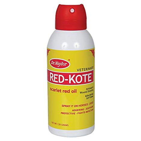 Dr. Naylor Red Kote Aerosol Antiseptic Non-Drying Softening Wound Dressing 5oz