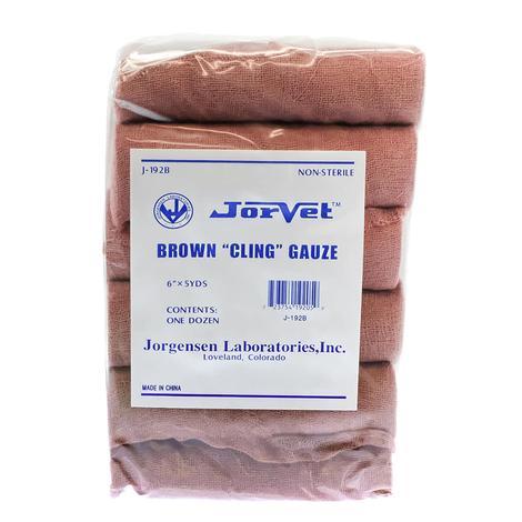 Brown Gauze Bandage Rolls 12pk 6
