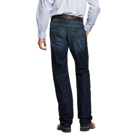Ariat M5 Slim Stackable Dark Straight Leg Men's Jeans