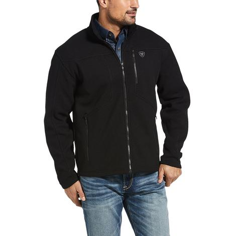 Ariat Austin Canvas Black Zip Men's Jacket