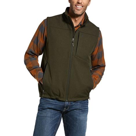 Ariat Vernon Softshell Olive Heather Men's Vest