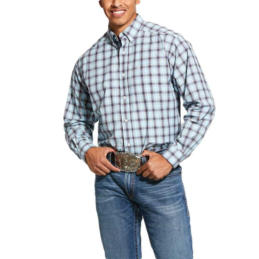 Ariat Lathrop Big Plaid Long Sleeve Buttondown Men's Shirt