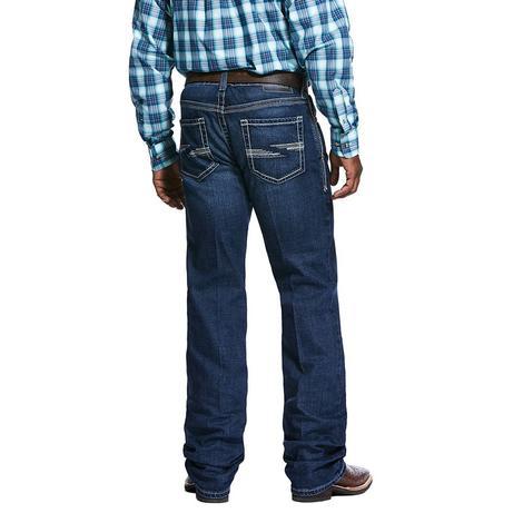 Ariat M4 Low Rise Dark Wash Bootcut Men's Jeans