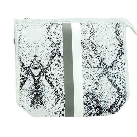 Haute Shore Mark Crossbody White Python Bag