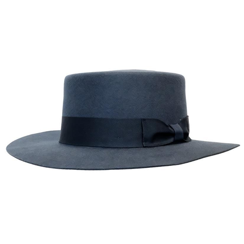 Wyeth Mac Felt Hat FRENCH_BLUE