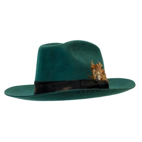 Wyeth Sloane Green Felt Hat