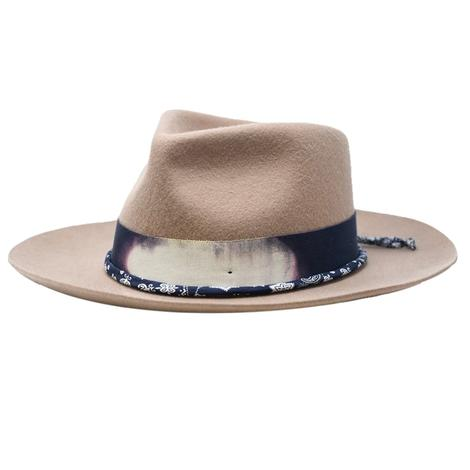 Wyeth Tan Drew Felt Hat