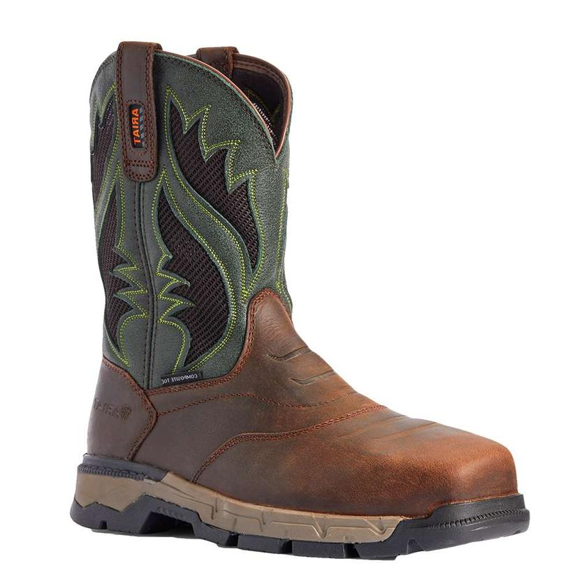 Ariat Rebar Flex Western Venttek Composite Toe Men's Work Boot
