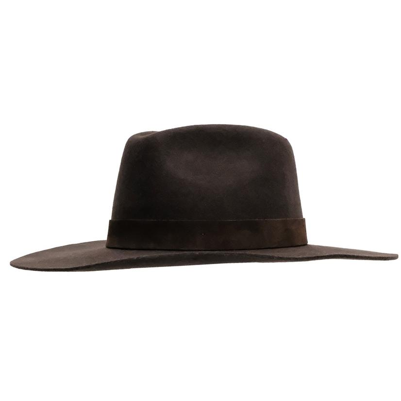 Wyeth River Brown Felt Hat BROWN