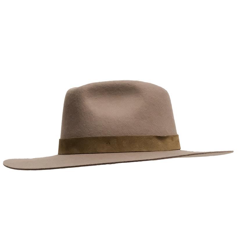 Wyeth River Brown Felt Hat DARK_TAUPE
