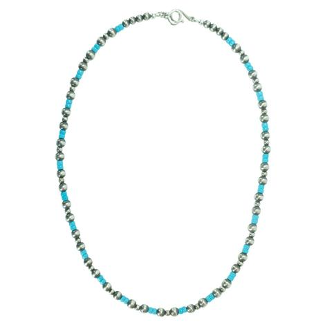 Navajo Pearl and Turquoise 20