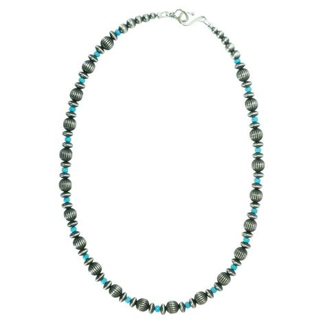 Navajo Pearl and Turquoise 18