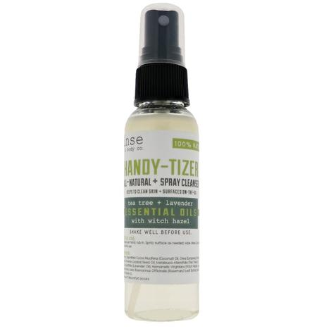 Handy Tizer Tea Tree Lavender Hand Sanitizer 2oz