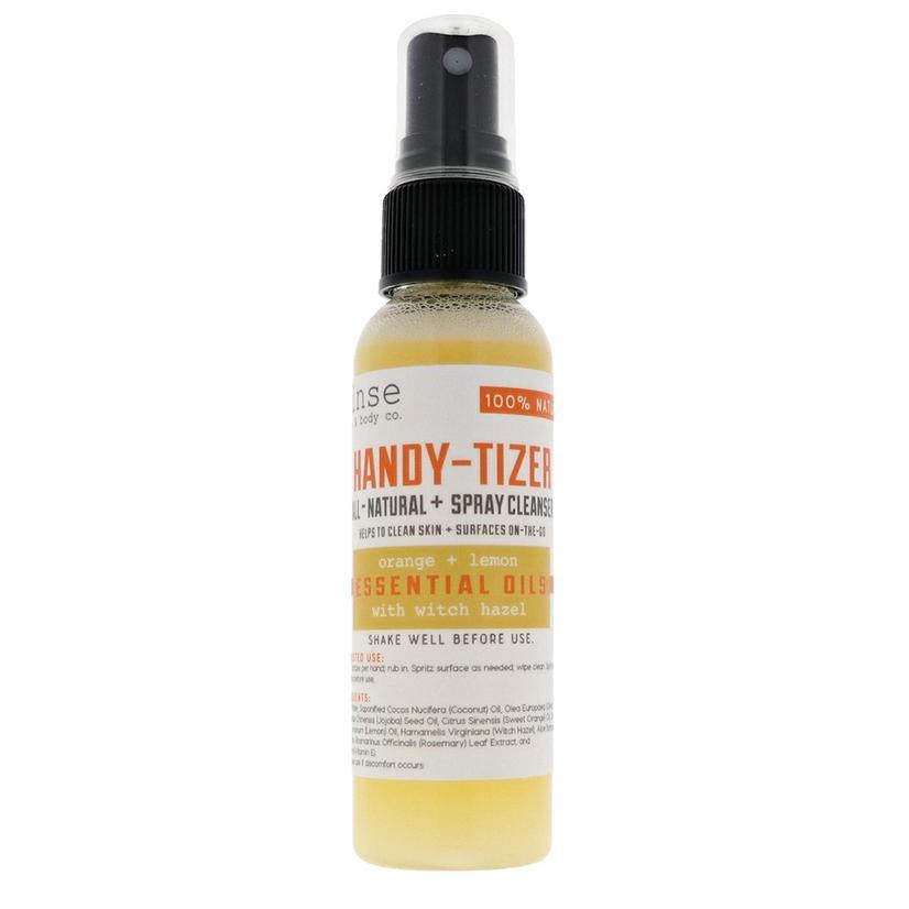 Handy Tizer Orange And Lemon 2oz Hand Sanitizer