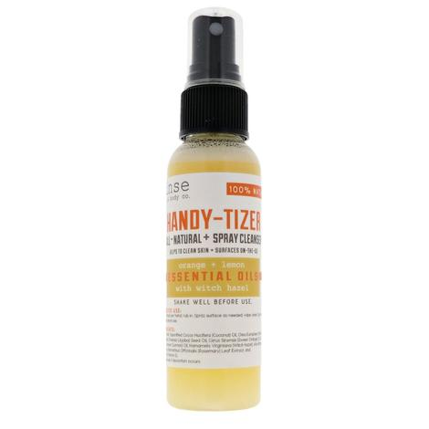Handy Tizer Orange and Lemon 2oz Hand Sanitizer