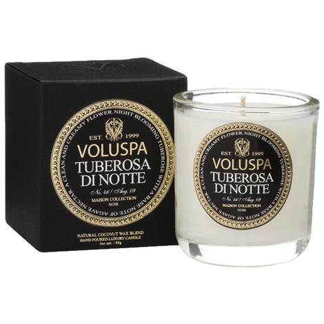 Voluspa Tuberosa di Notte Classic Maison Boxed 3oz Votive Candle