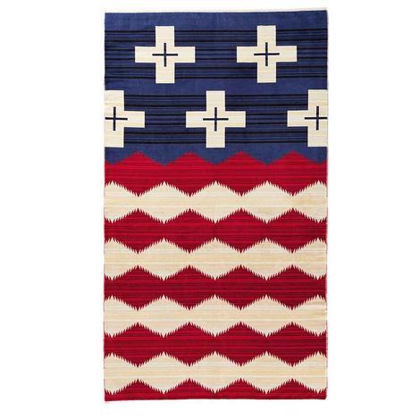 Pendleton Oversize Jacquard Towel 40x70 Brave Star