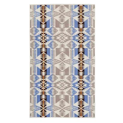 Pendleton Oversized Jacquard Towel Silver Bark 40x70