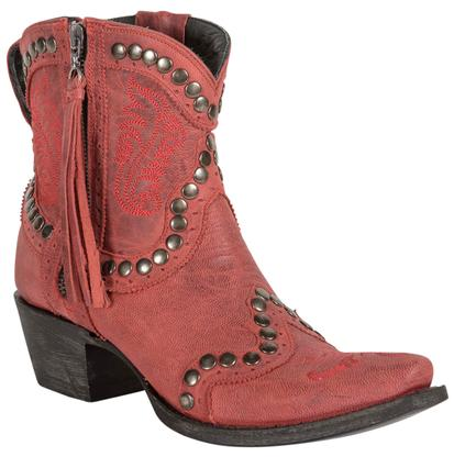 Double D Ranch Garcitas Red Half Pint Women's Boots